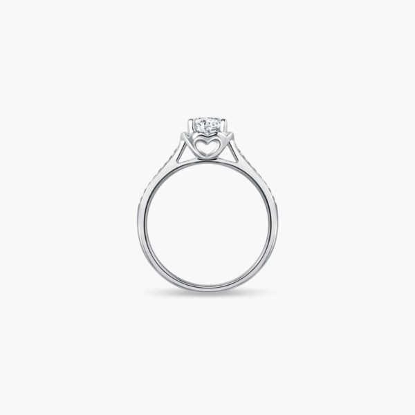 Love Journey Solitaire Diamond Engagement Ring