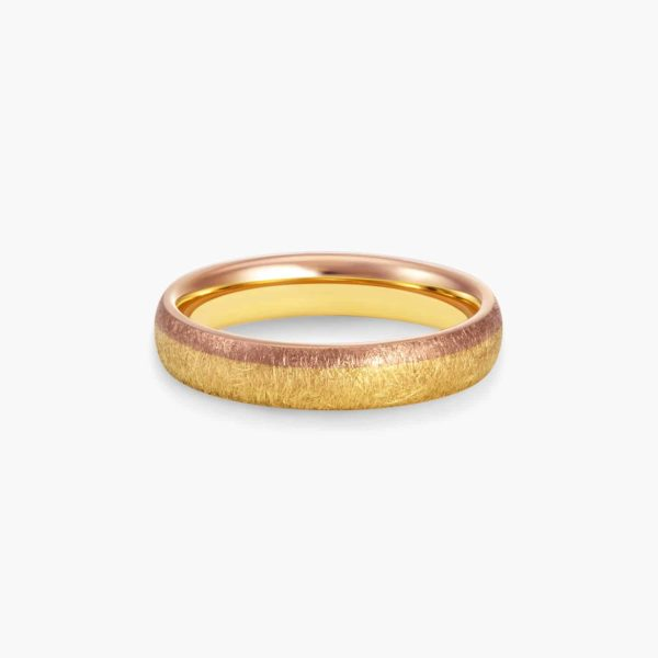 LVC Soleil Apollo Wedding Ring for men with Dual Matte Finish