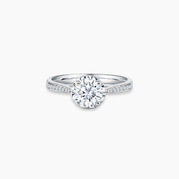 Love Journey Solitaire Diamond Engagement Ring Malaysia