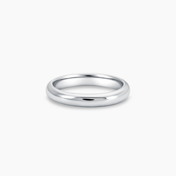 LVC Purete Duo Wedding Ring for men with Mixed Matte and Glossy Finish